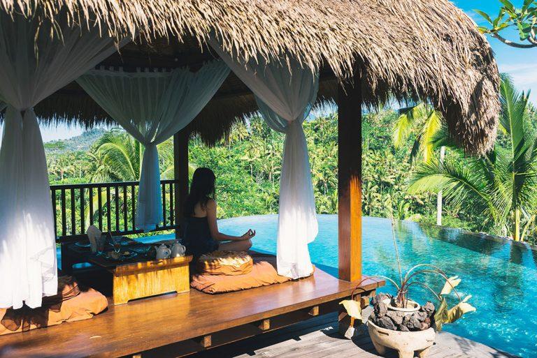 Erholung und totale Entspannung im Wellnessparadies Bali