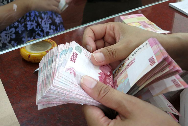 Geld und Währung auf Bali