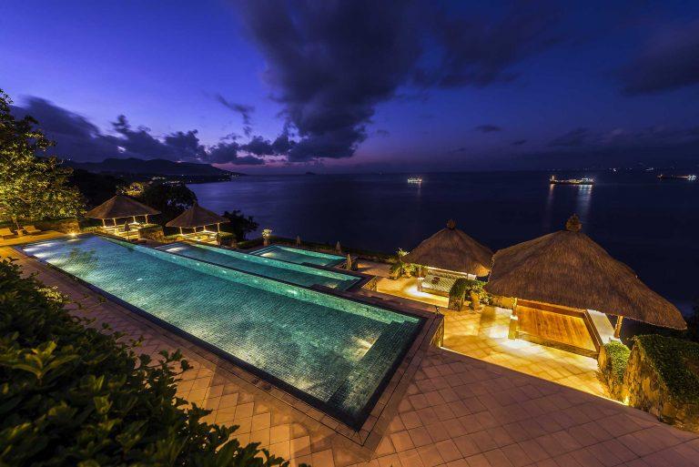 Hotels und Villen auf Bali